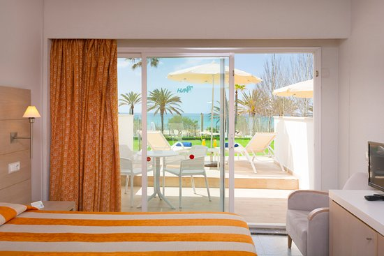 HSM Golden Playa first floor room with private terrace