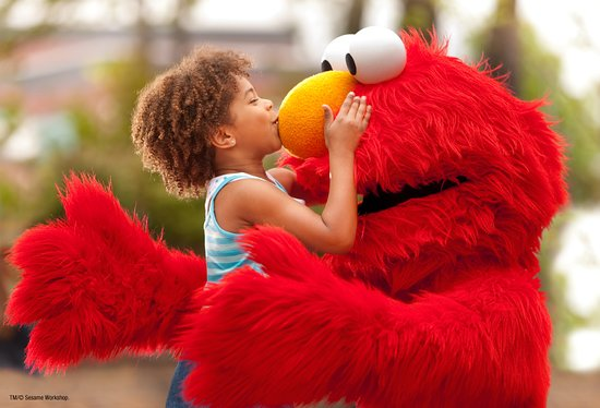Sesame Place: Hugs from everyone's favorite Sesame Street Friends
