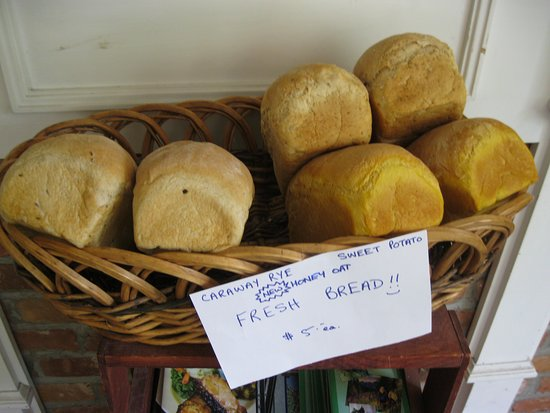 Fresh bread on hand if you visit Mad Cravings in Wyebridge, Ontario.