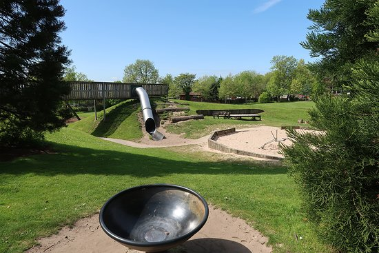 Oldham, UK: Playground