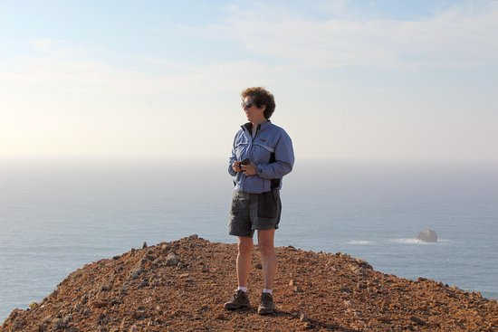 Tivoli Lagos Hotel: On the cliffs of the Algarve - Marli took this photo of me when I wasn't looking