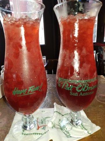 hurricane drink picture of pat o brien s san antonio tripadvisor rh tripadvisor com