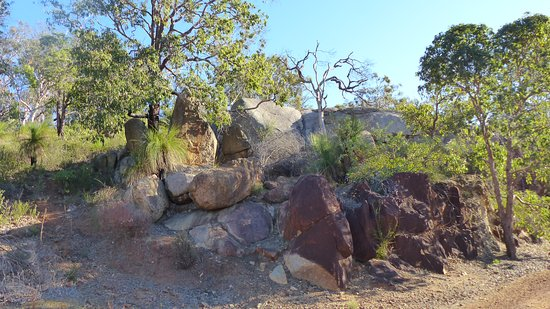 Greater Perth, Αυστραλία: Boulders along the Eagle View Trail