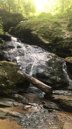 Central, Carolina del Sur: waldrop stone falls