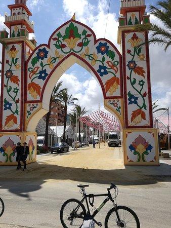 Feria de la Manzanilla: Entrada a la Feria
