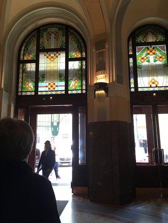 Obecní Dům: Art Nouveau Vitraux at the Municipal House Hall, Prague