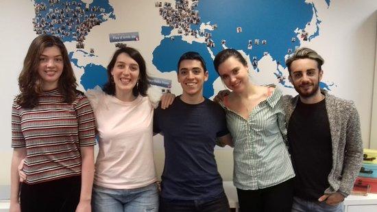 Spaneasy: ¡Gracias Daria por elegirnos como tu escuela de español en Madrid!