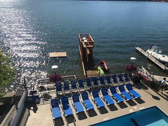 Lake Motel: Beautiful space on the Lake.