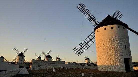 Mota del Cuervo, Spain: Visita a Los Molinos de Campo de Criptana