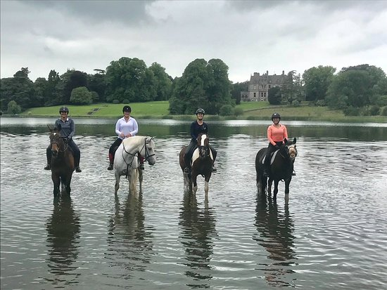 Glaslough, Ireland: More estate ride fun!