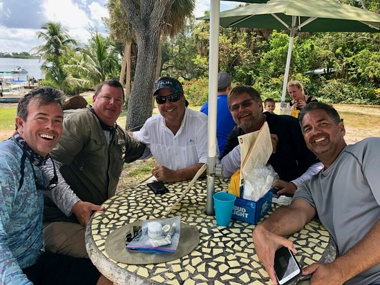 Pineland, Флорида: Lunch on Cabbage Key!