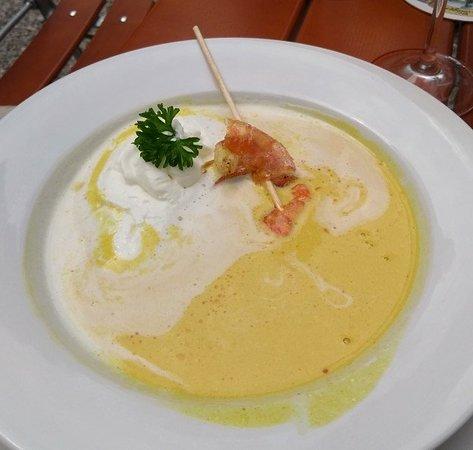 Inning am Ammersee, Germany: Eine Suppe so schön wie ein Gemälde