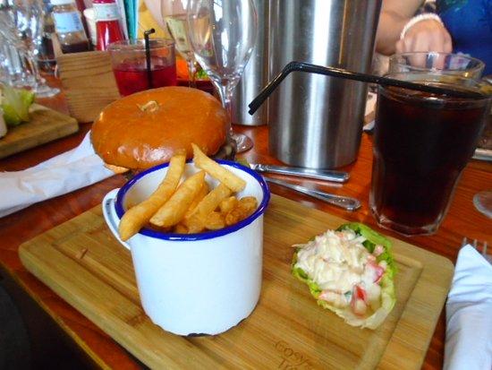 Bamber Bridge, UK: Think it was called last stop burger Good
