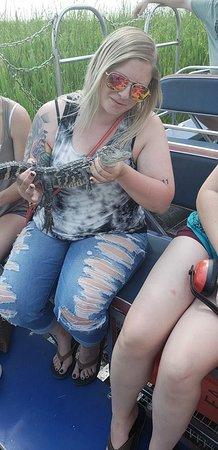 Marrero, لويزيانا: Baby gator (Hook)