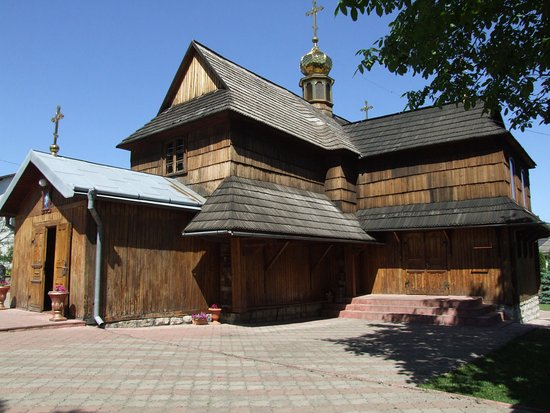 Chortkiv, Ukraine: Церковь Успения Пресвятой Богородицы г.Чортков