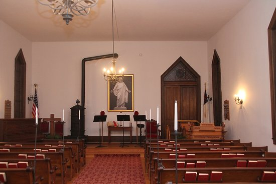Dowagiac, MI: The interior is either original or nearly identical reproductions.