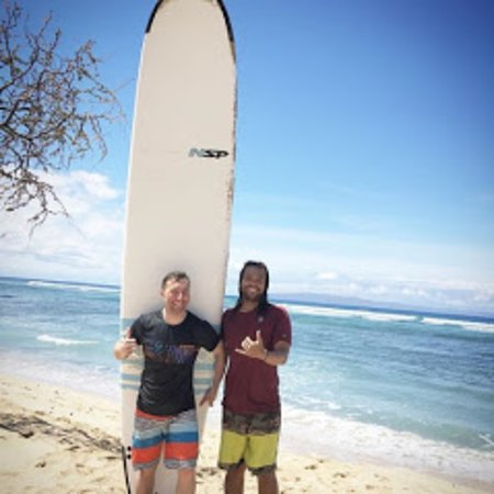 22633495e1 Private surf lessons are the best! - Picture of POME Maui, Paia ...