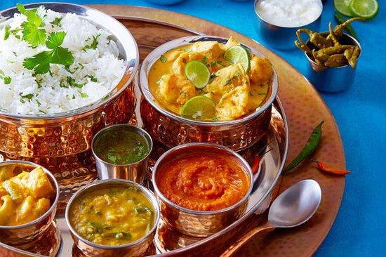 Agassiz, Kanada: Taj Indian Bistro is Taste Of India.