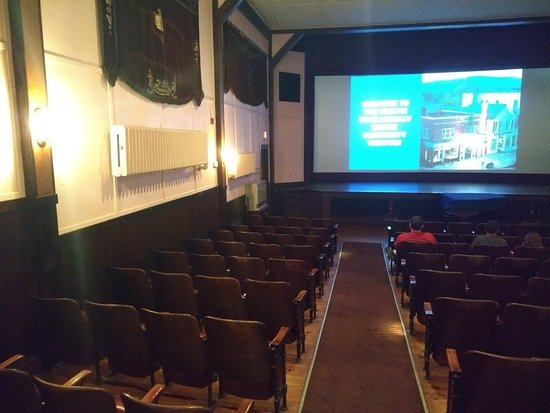 Old Fashioned Movie Theater