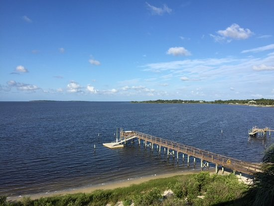 Seahorse Landing: View From Condo Deck