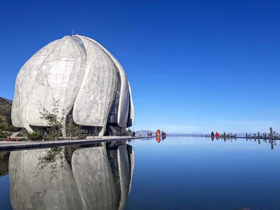 Templo Bahá'í: muy lindo lugar