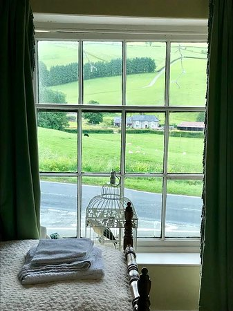 New Radnor, UK: Beautiful view from our room :)