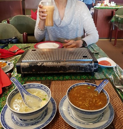 Spangdahlem, Alemania: Peking soup! So delicious. Ask them how its made. Interesting story.
