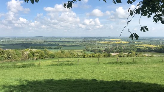 Uffington, UK: View from the car park