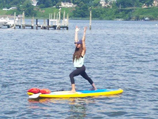 Flow Paddle Yoga