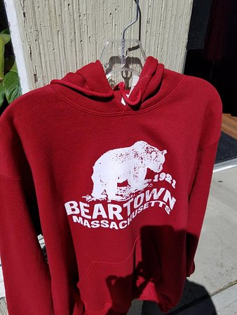 Beartown hoodies at Twisted Orchard in Lee, MA.