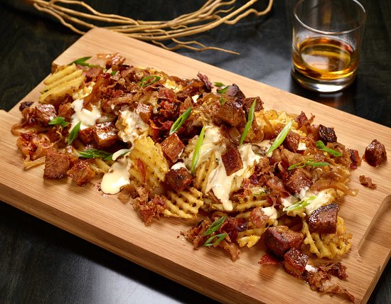 Brisket Waffle Fries at the Tbar Breckenridge  - Picture of