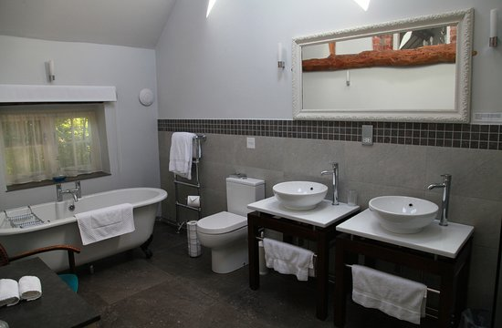 South Creake, UK: Oak Room en-suite