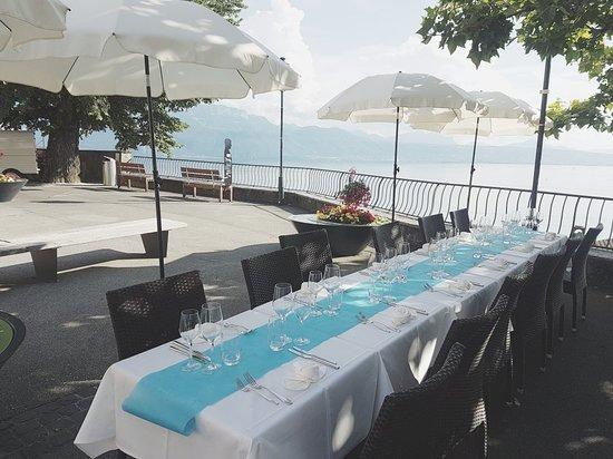 Grandvaux, Switzerland: Cafe de la Place
