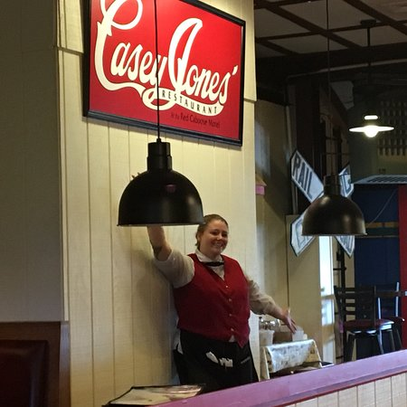 Casey Jones Restaurant Menu