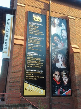 American Shakespeare Center: Each season at the ASC includes Shakespearean plays plus works by other playwrights.