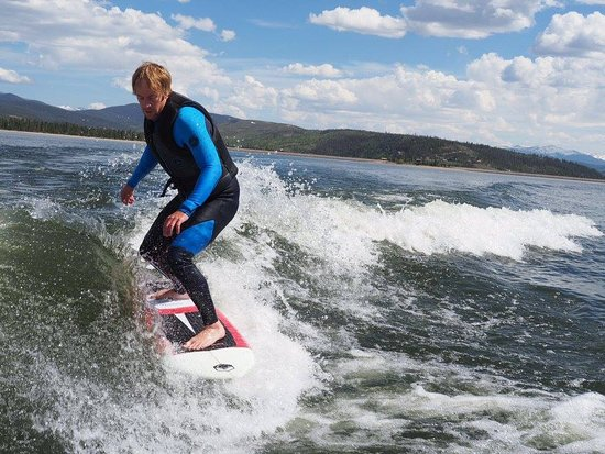 Grand Lake, Kolorado: Wake Surf