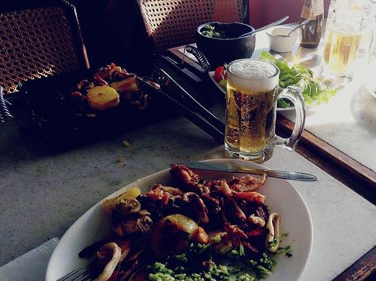 Restaurante Point de Grumari: serve bem 2 pessoas, saboroso
