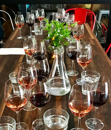 Forktown Food Tours: Visit an urban winery Southeast Wine Collective on the Division Tour