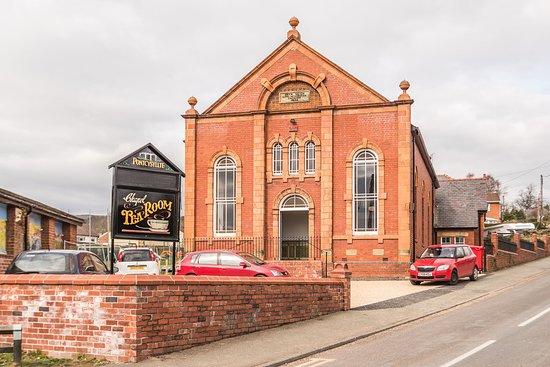 Trevor, UK: Fabulous tearoom in grade 2 listed former chapel