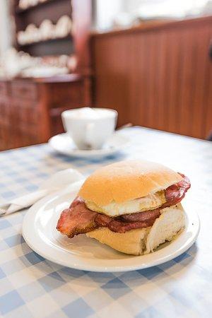 Trevor, UK: tasty breakfast bap