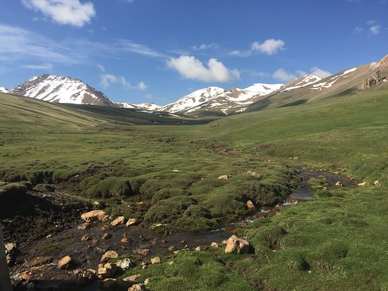 Naryn Province, Kirgisistan: ユートキャンプ場