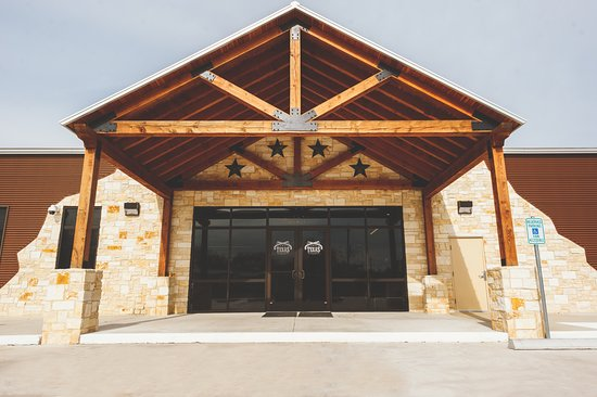 Stafford, TX: Entrance to Texas Gun Club. Texas Luxury, Southern Hospitality!