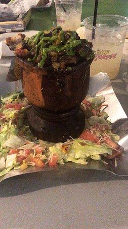 Don Maceta: Mofongo relleno de Churrasco