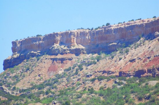 Palo Duro Canyon State Park: Palo Duro Canyon drive through