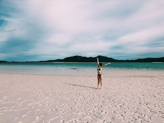 Whitehaven Beach and Hill Inlet Lookout Full-Day Snorkeling Cruise by High-Speed Catamaran: Whitehaven Beach!