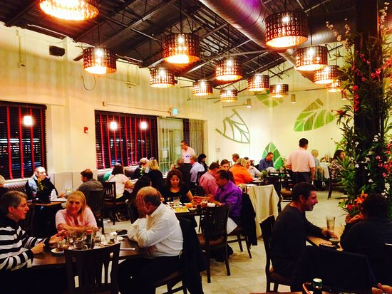 Glen Ellyn, IL: Lu's interior --- light and airy with a Sushi Bar and some large tables for bigger groups