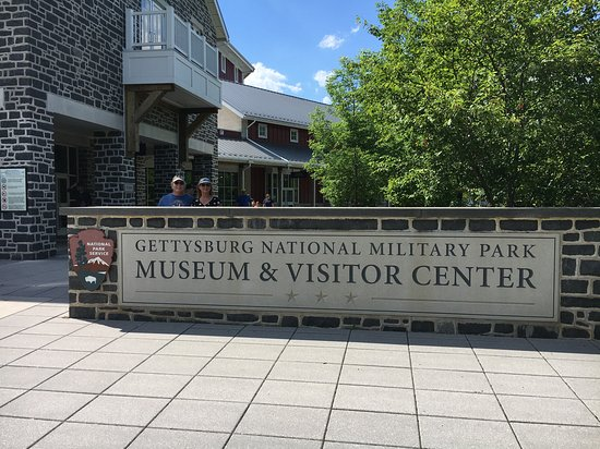 Gettysburg Battlefield Bus Tours: We visited the museum before and after our bus tour.