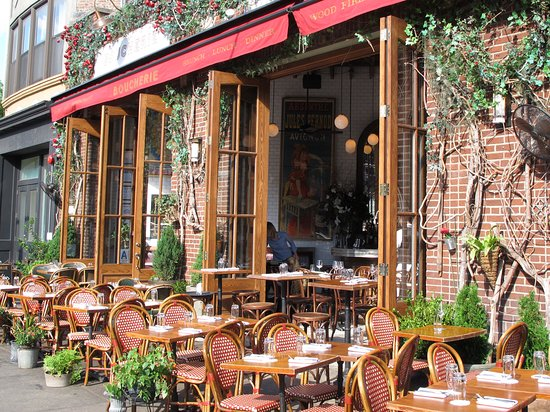 Boucherie West Village Fabulous Outdoor Seating