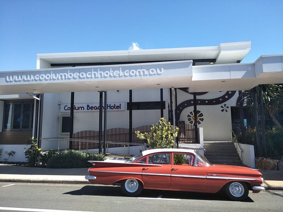 Tewantin, Australia: Another great PIT stop when cruising in ITSA59 - Coolum Beach Hotel