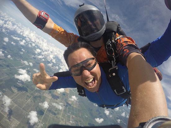 Having a blast! - Picture of Skydive Spaceland Florida